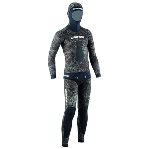 Cressi 3.5mm Tracina Spearfishing/Freediving Wetsuit, LG