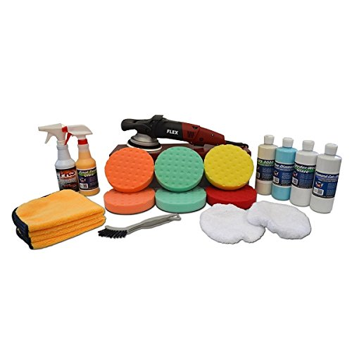 Detail King FLEX XC3401VRG Polisher Correct & Protect Value Package