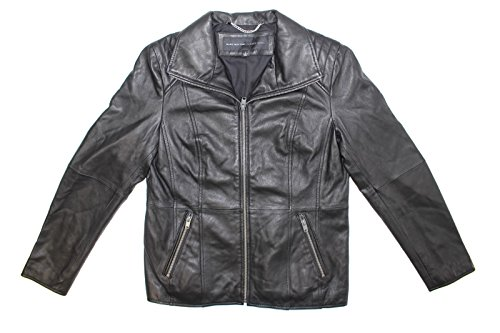 Andrew Marc Fabian Leather Jacket (Black, ()