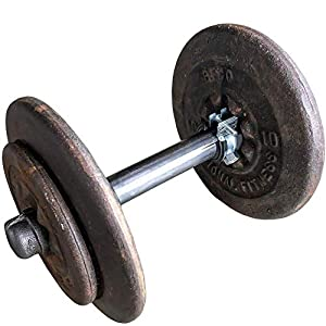 Well-Being-Matters 41VJ%2BK7wYaL._SS300_ DIY CARTEL Industrial Pipe Adjustable Dumbbell Barbell Lifting Handle