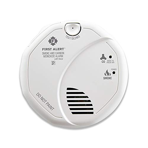 First Alert BRK SC7010B-3 Hardwired Smoke and Carbon Monoxide (CO) Detector with Battery Backup, 3 Pack