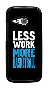Hard Case for HTC One Mini 2 / HTC One Remix / HTC M8 Mini (Basketball Sport)