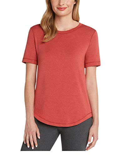 Matty M Ladies' French Terry Tee (Clay/Red, Large) from Matty M