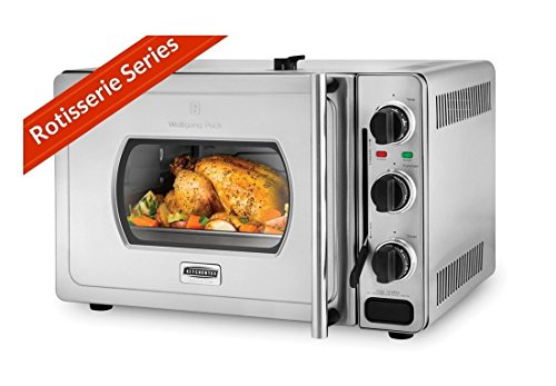 Wolfgang Puck Pressure Oven Rotisserie 29-Liter Stainless Steel Countertop -