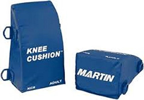New Martin Adult Baseball Softball Catchers Knee Savers For 5'7'' & Taller Royal by Martin Sports