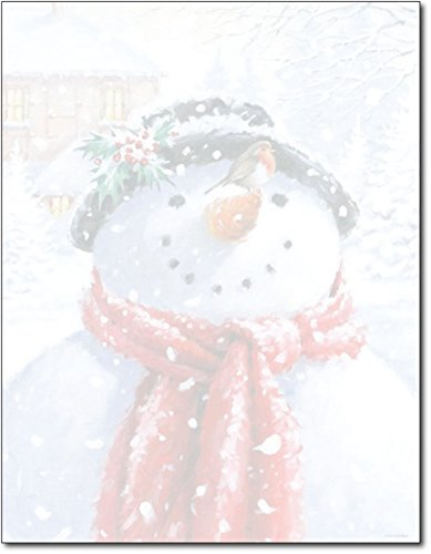 Great Papers! Snowman Face Letterhead - 80 Sheets]()