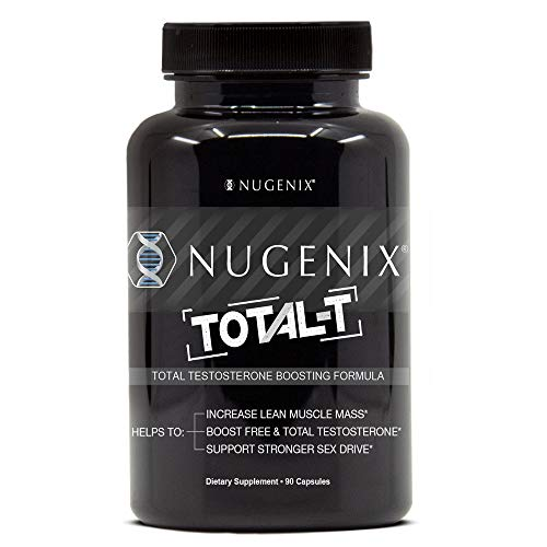 (Nugenix Total-T: Men's Total Testosterone Boosting Formula. All New, High Potency, High Bioavailibility Testosterone Boosting Ingredients. Helps with Energy, Muscle, Libido, Stamina, and Drive)