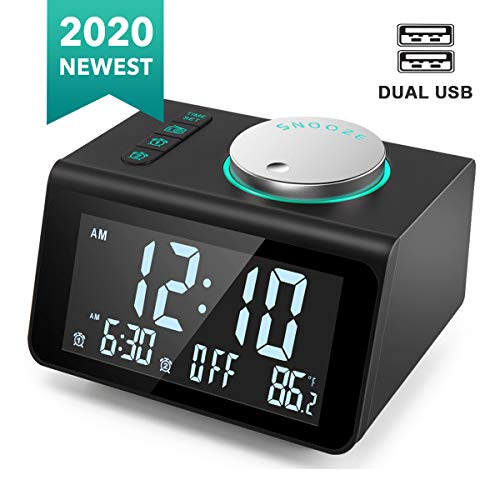 ANJANK Small Digital Alarm