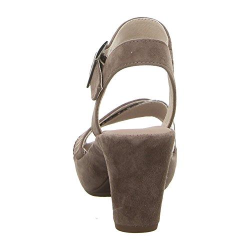 Gabor 65-752 Sandalias fashion de cuero mujer fango/roccia