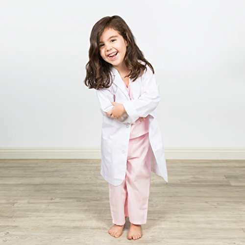Big Imagination Co. Kid's Doctor Lab Coat Costume (4/6) by Big Imagination Co. (Image #2)