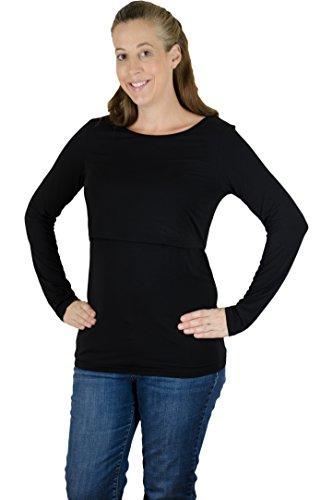 Latched Mama Women's Long Sleeve Nursing Shirt