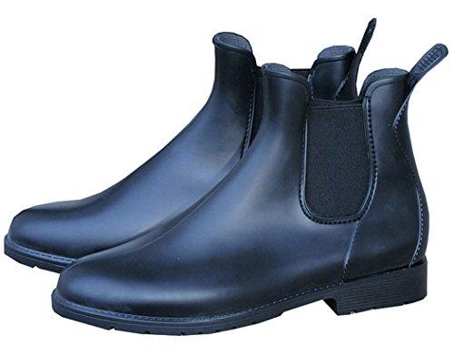 Amesbichler PVC ankle boots | (Riding | Garden Ankle Rain Boots Shoes | Winter Jodphur Stiefelette Size:36 (EU) b0rNk9