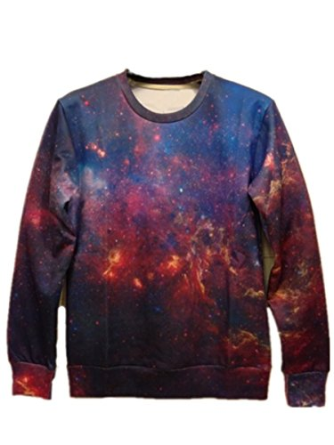 XTX? 2014 men women Galaxy starry 3d hip hop punk Sweater Shirts top coat
