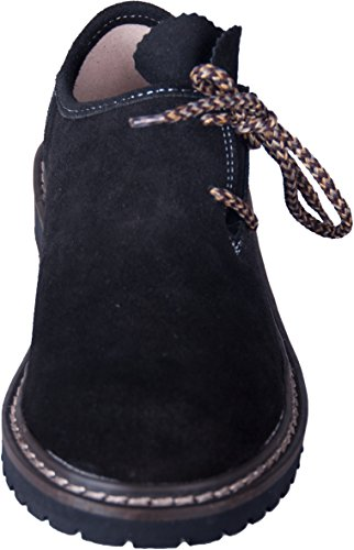in Almwerk Trachtenschuh echtem Weiß Herren Schwarz Leder aus verschiedenen Farben wwvU7WZq1B