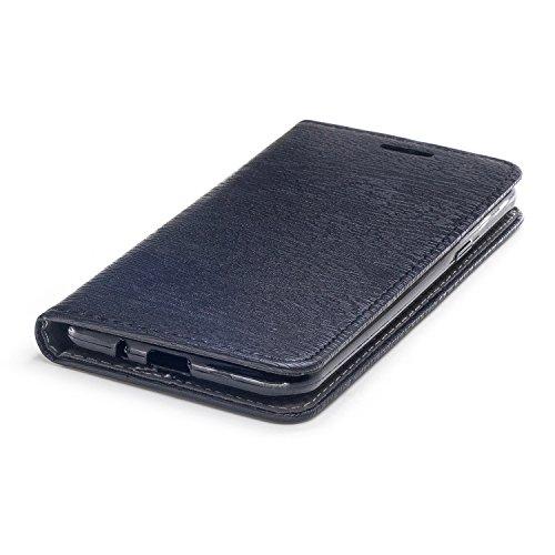 Funda para Samsung J5 2016, CaseLover Piel PU Flip Folio Carcasa para Samsung Galaxy J5 2016 J510 con TPU Silicona Case Cover Interna Estilo Libro Cuero Tapa Cierre Magnético, Función de Soporte, Bill Gris