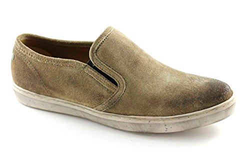 suede Beige PP10123 SPRIG sneakers BASE shoes on loafers LONDON slip men's q8wPvf
