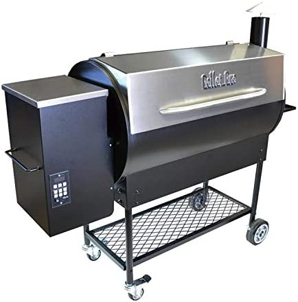Pellet Pro Upgraded 1190 Deluxe Stainless Steel Pellet Grill with Free Cover and Free Home DELIVERY