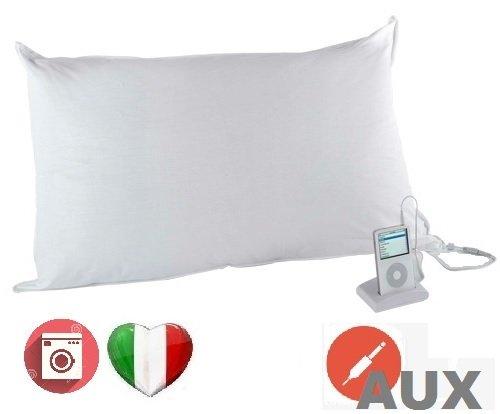 Cojín Musical almohada cama con altavoces y Cable AUX para ...