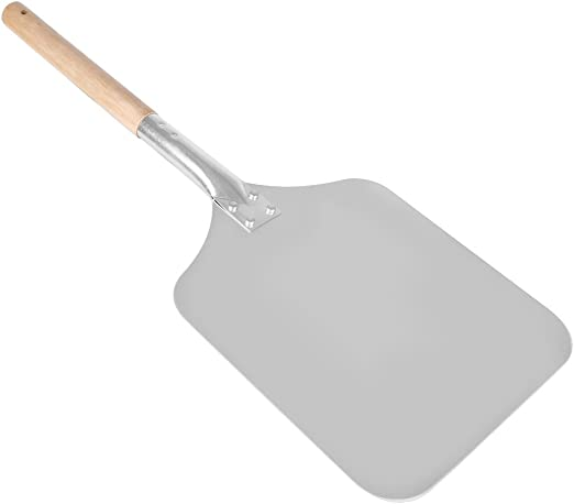 Aluminum Pizza Shovel With Wooden Handle Pastry Tools Accessories For Kitchen