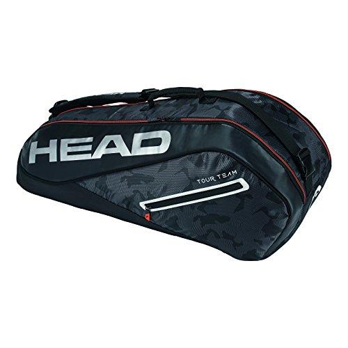 HEAD  Tour Team 6R Combi Tennis Bag Black/Silver