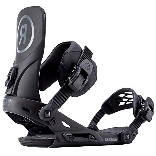 Ride Revolt Snowboard Bindings 2019 Black M (Best Freestyle Bindings 2019)