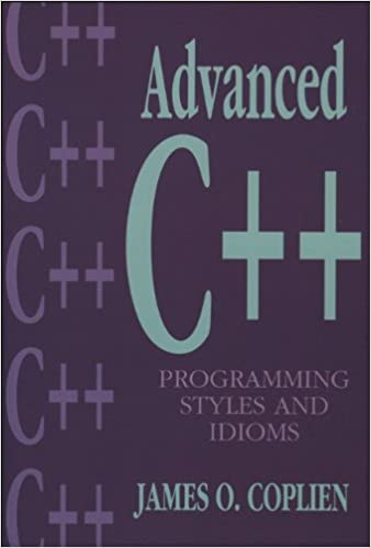 Amazon com: Advanced C++ Programming Styles and Idioms