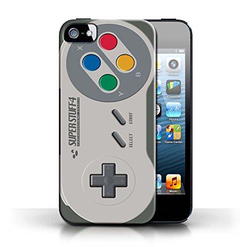 Gedruckt Schutzkoffer Schutzhüllen / Hülle für Apple iPhone 5/5S / Super Nintendo Muster / Spielkonsolen Kollektion