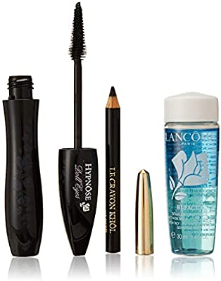 LANCOME HYPNOSE DOLL EYES MASCARA SO BLACK + 2 PIEZAS SET REGALO ...