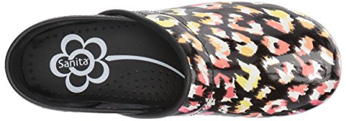 Sanita Womens Smart Step Simone Scarpa Da Lavoro Multicolor