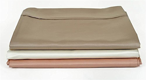 SMARTSILK Flat and Fitted Sheet Set (Cal King: 27in.Lx23in.Wx8in.H(3.62 lbs.)-Blush)