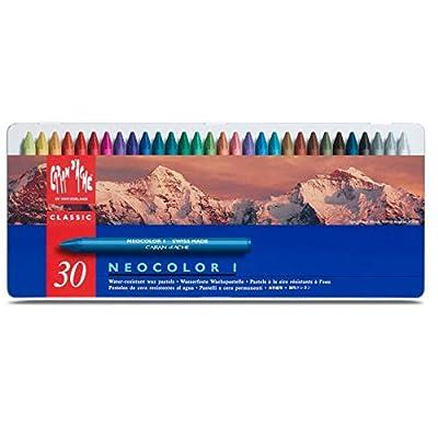 Neocolor I Water-Resistant Wax Pastels