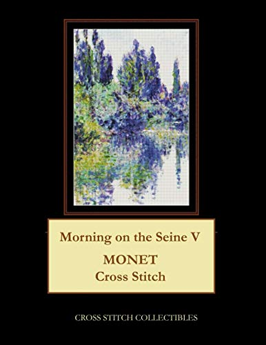 Morning Stitch Cross - Morning on the Seine V: Monet Cross Stitch Pattern