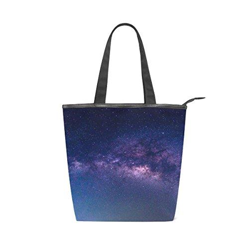Fourre tout Galaxy Sac Universe De D'épaule Main Nebula Alaza À Etoiles 64wq54