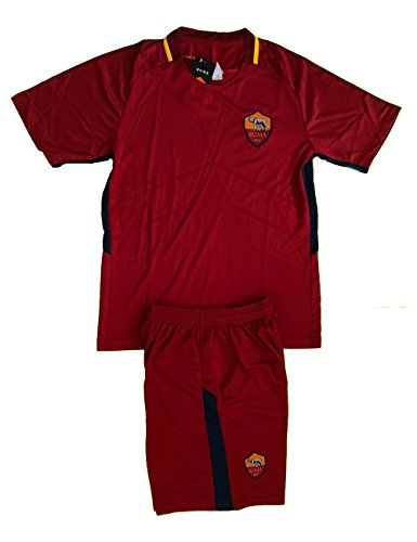 fan products of AS Roma Soccer Adult Uniform Sets Jersey & Short Adult Medium .New