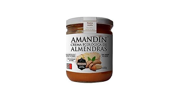 Crema de Almendras Ecológica AMANDIN (330 gr): Amazon.es: Alimentación y bebidas