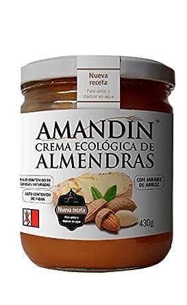Crema de Almendras Ecológica AMANDIN (330 gr): Amazon.es ...