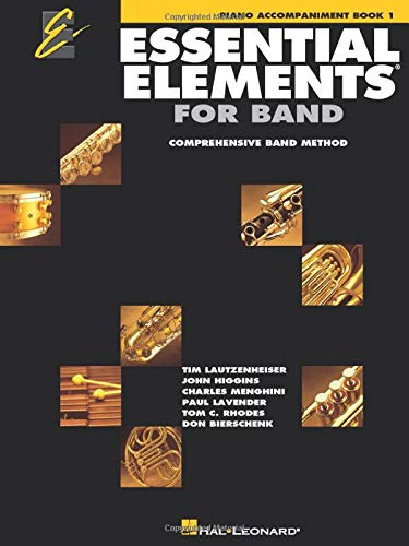 Essential Elements 2000: Piano Accompaniment Book 1