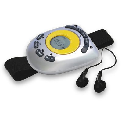 Jensen SAB55A Digital AM/FM Stereo Armband Radio