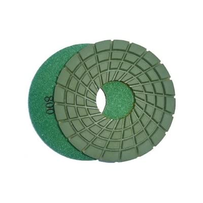 Toolocity 7PDR0800 7-Inch Rigid Diamond Polishing Pads, 800 Grit: Home Improvement