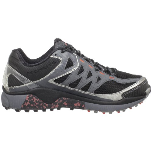 Women's Running Omni Coral Ravenous Columbia Hot Shoe Trail Stability Tech Black AqRFqxYdw
