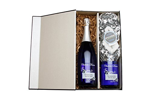 Take a Day Off Sparkling Wine Gift Set with Chateau Diana Sparkling Moscato, 1 x 750mL