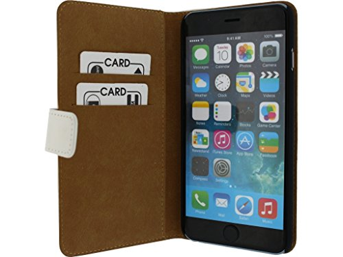Mobilize Slim Wallet Book Case Apple iPhone 6 Plus White