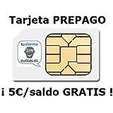 TARJETA SIM PREPAGO ORANGE MUNDO 5€ DE SALDO: Amazon.es ...