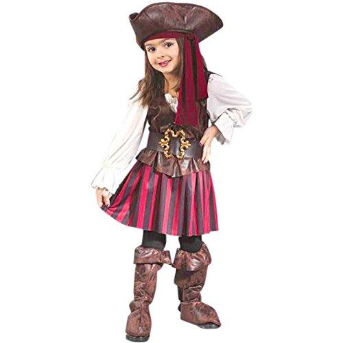 Child's Toddler High Seas Girls Pirate Costume
