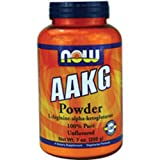 AAKG Powder – 7 oz (198 Grams) by NOW For Sale