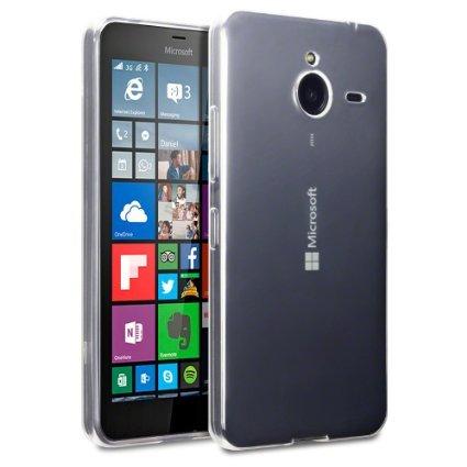 Plus Ultra Clear Transparent Flexible Soft TPU Slim Back Cover for Microsoft Lumia 640 XL