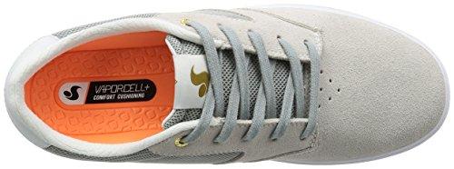 Zapatos DVS Chico Brene Pressure SC - Signature Series Light Gris Suede-Mesh Gris
