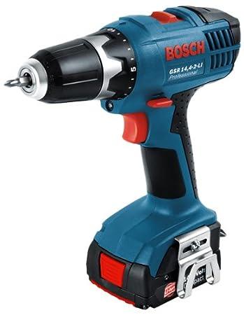 14.4 V Blau Rot 14,4-2-LI Professional 2x1,5 Ah K 1.4 W Bosch Professional Schwarz +GSR 14.4-2-LI Akkuschr