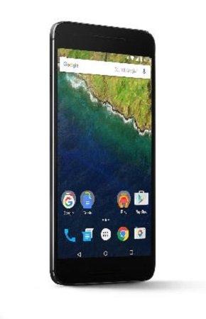 bolsa del cinturón / funda para Huawei Nexus 6P, negro + Auriculares | caja del teléfono cubierta protectora bolso - K-S-Trade (TM)