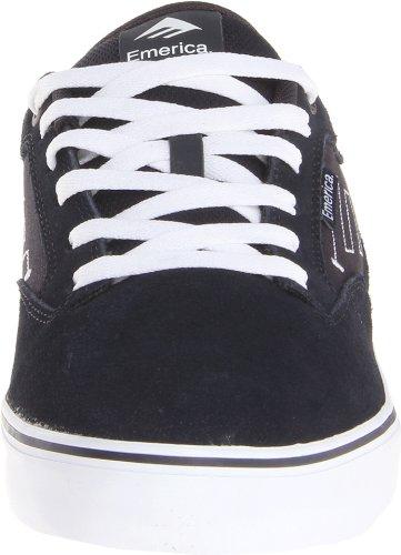 Emerica THE JINX 2 6101000095 - Zapatillas de cuero para hombre Dark Navy